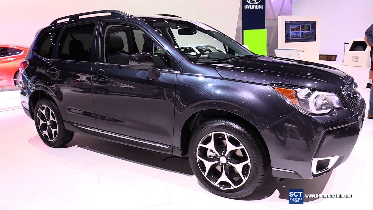 2016 Subaru Forester XT - Exterior and Interior Walkaround - 2015 LA ...