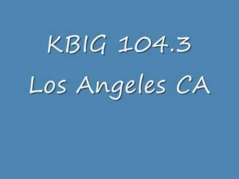 KBIG 1043 Los Angeles CA  1987  Guy Daviswmv