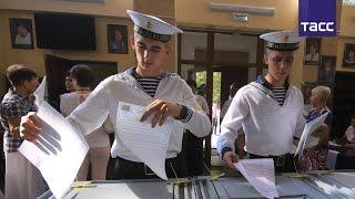 В Крыму проходят первые выборы в Госдуму