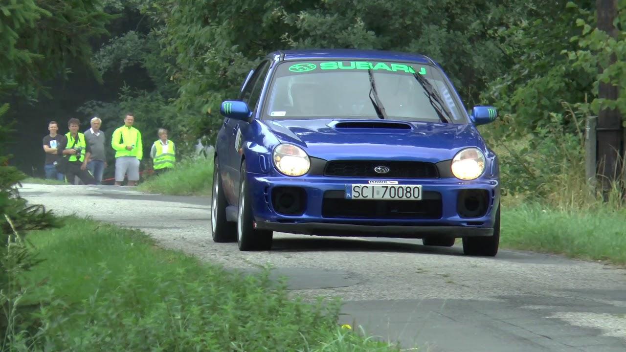 Super Sprint Lipowiec 2017 – Sławomir Sikora / Jerzy Cielusek – Subaru Impreza
