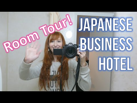 Japanese Business Hotel room tour!