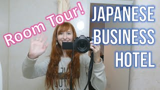 Japanese Business Hotel room tour!(, 2016-02-24T11:01:00.000Z)