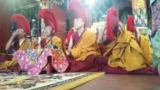 Live Debating at Jonang Temple