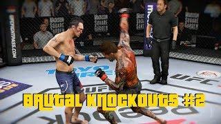 EA SPORTS UFC 3 - Brutal Knockouts Compilation #2