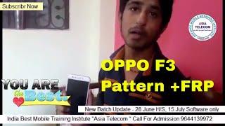 Oppo F3 Pattern Unlock Miracle Box