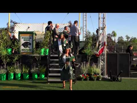 Perris High School Commencement 2014