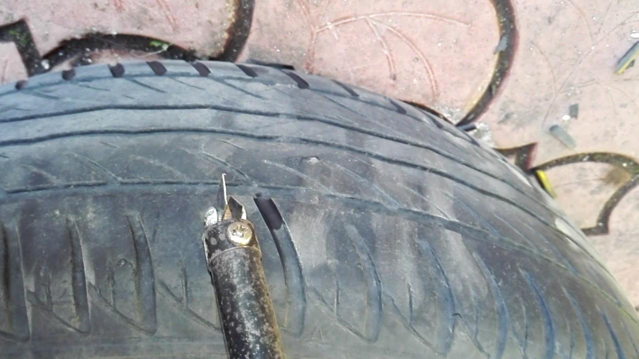Регрувер для нарезки протектора из паяльника своими руками фото 980