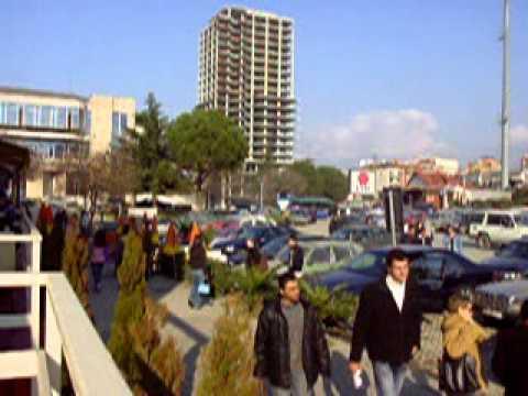 Center of Tirana Albania, 2005