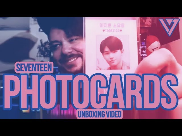 Mikey's SEVENTEEN Photocard Unboxing Video