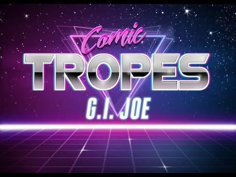 G.I. Joe's Writer Larry Hama at His Best - Comic Tropes (Episode 20)