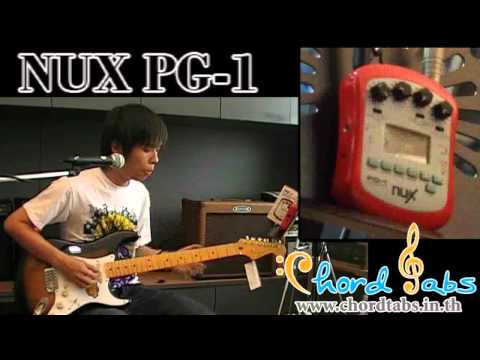 Review NUX PG-1 Portable Guitar Effect