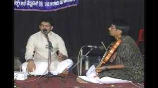 Carnatic Classical Vocal-Dharmasamvardhini-Madhyamavathi-Roopaka thalam.