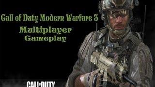 Call Of Duty:Modern Warfare 3  Multiplayer Gameplay(PC HD)