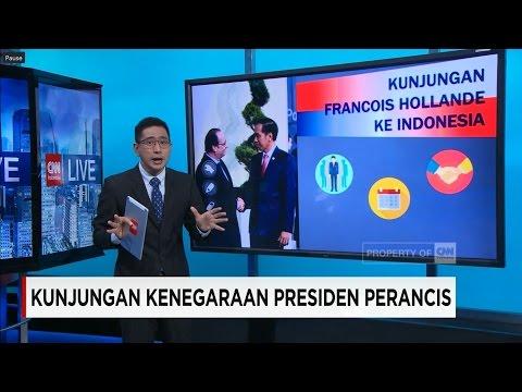 Kerjasama Bilateral Francois Hollande Saat Lawatan Ke Indonesia