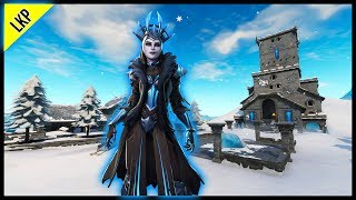 Playing Fortnite Squads/Creative With Subs! New Fortnite Ice Queen Skin! (Sub Count 695/700)