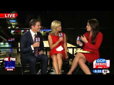Fox News' Bill Hemmer Martha MacCallum prepared for debate