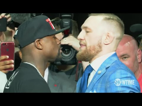 Floyd Mayweather and Conor McGregor go face-to-face in Toronto; full press conference