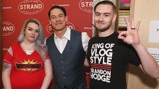 Meeting John Cena At Strand Bookstore In NYC | Brandon Hodge Vlog #82