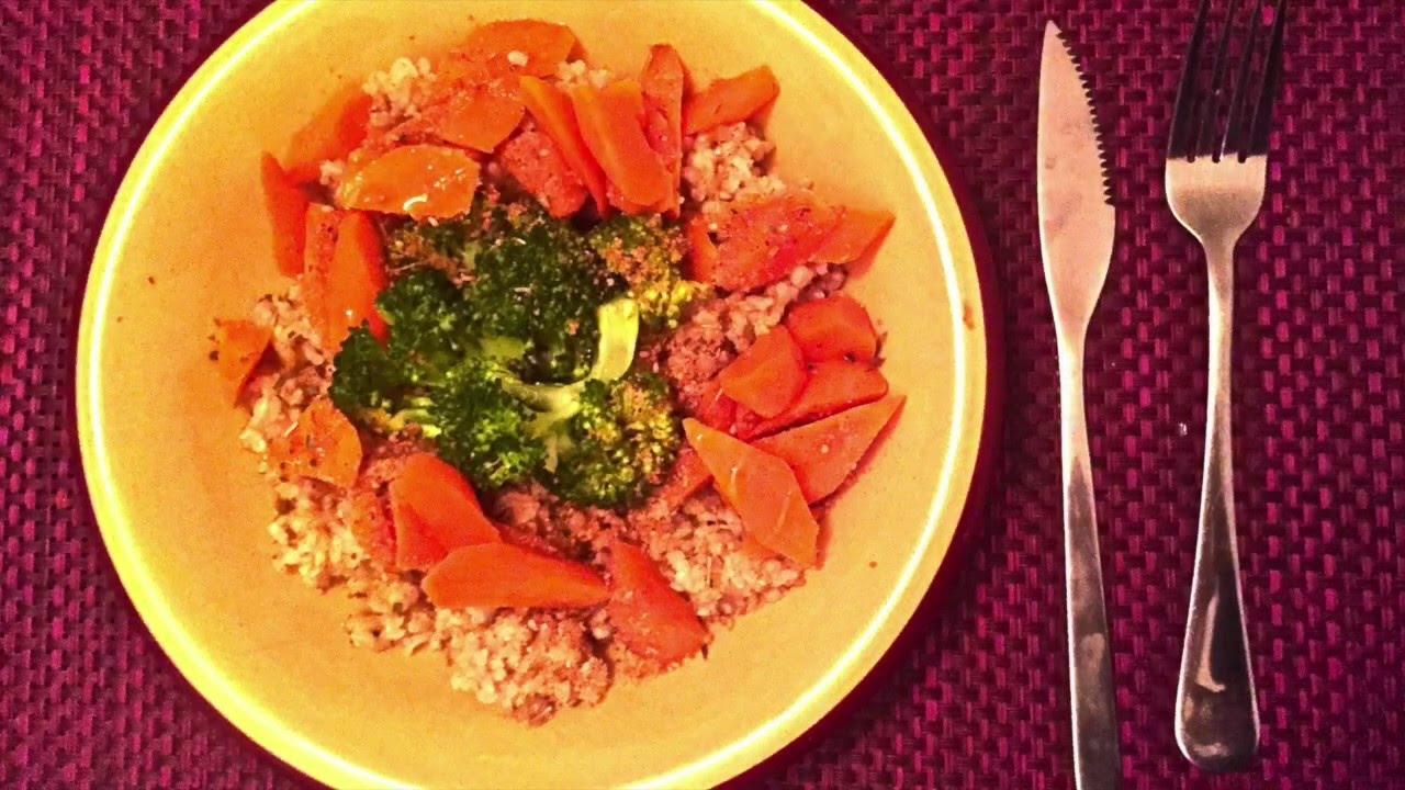 Dieta del arroz rojo con gomasio