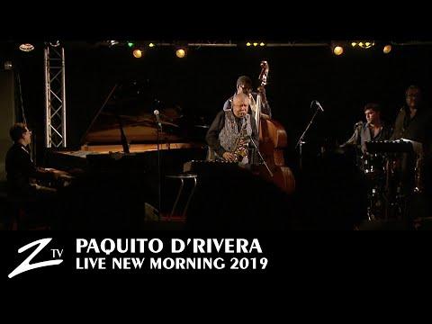 Paquito D'Rivera - Manteca - (Dizzy Gillespie Cover) - New Morning 2019 - LIVE HD