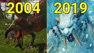 Evolution of Monster Hunter Games 2004-2019