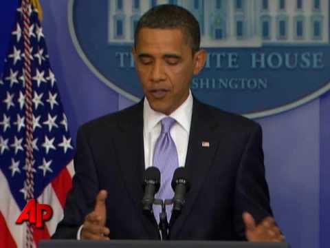 Iran, Health Care Dominate Obama News Conference