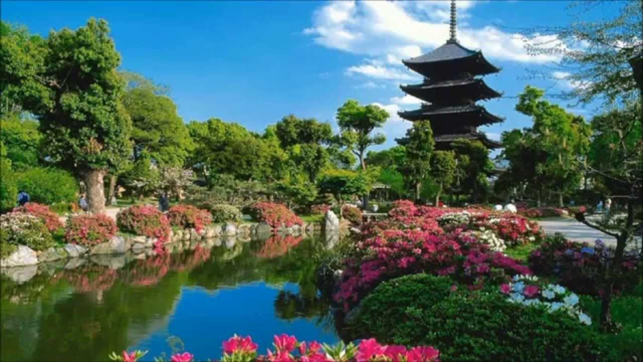 Prächtig Japanische Gärten - YouTube &RV_24