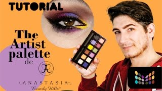 Anastasia Beverly Hills The Artist Palette - Tutorial y Review