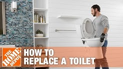 How To Replace or Install a Toilet | The Home Depot