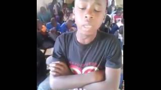 Beautiful Quran recitation by a African boy