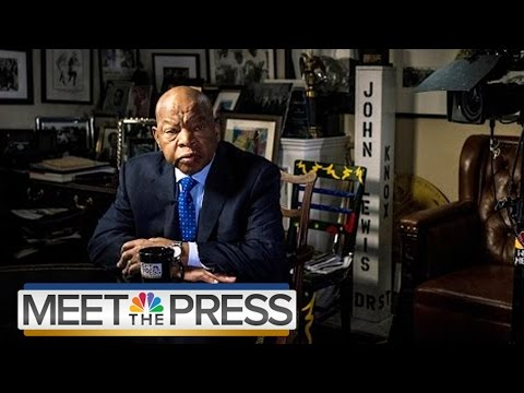 Rep. John Lewis: Donald Trump Won't Be A 'Legitimate President' | NBC News