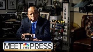 Rep. John Lewis: Donald Trump Won't Be A 'Legitimate President