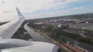 Piloot met haast!! KLM vlucht KL1144 van Oslo naar Amsterdam