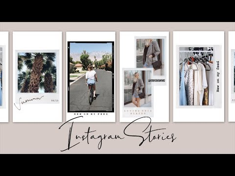 HOW I EDIT MY INSTAGRAM STORY! TIPS & TRICKS FOR COOL INSTAGRAM STORIES