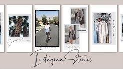 HOW I EDIT MY INSTAGRAM STORY! TIPS & TRICKS FOR COOL INSTAGRAM STORIES