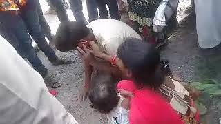 Accident in biswan