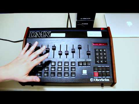 'Blue Monday' DMX drum pattern
