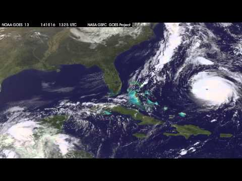 Satellites See Powerful Hurricane Gonzalo Hit Bermuda