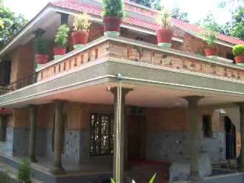 habitat model houses in kerala india youtube