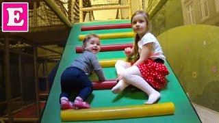 ЛЕОПАРК Одесса - Детский Развлекательный Центр - прыгаем на батуте, лазим в лабиринте играем куклами