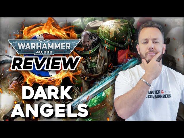 REVIEW DARK ANGELS - Supplément Space Marines Warhammer 40.000