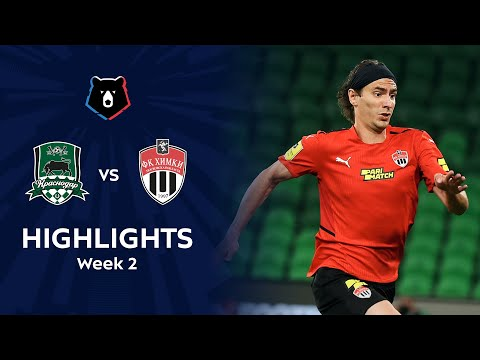 Krasnodar FK Khimki Goals And Highlights