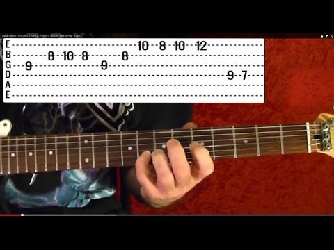 In the Flesh - The Wall by PINK FLOYD - Guitar Lesson - David Gilmour