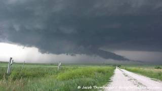 July 13, 2009 (7-13-09) Storm Chase - HD - Wall, SD to Valentine, NE - Geogeous Supercell