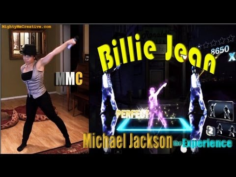 """BILLIE JEAN"" Michael Jackson The Experience (Kinect) - MightyMeCreative"