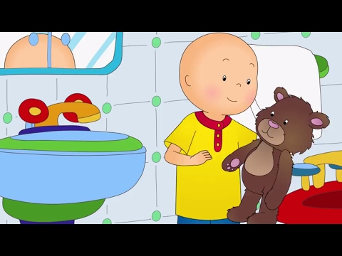 Funny Animated cartoons Kids   Caillou and Teddy   WATCH CARTOONS ONLINE   Cartoon for Children