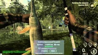 Fishing Planet. Северная Каролина. Трофейный Длинноносый Панцирник