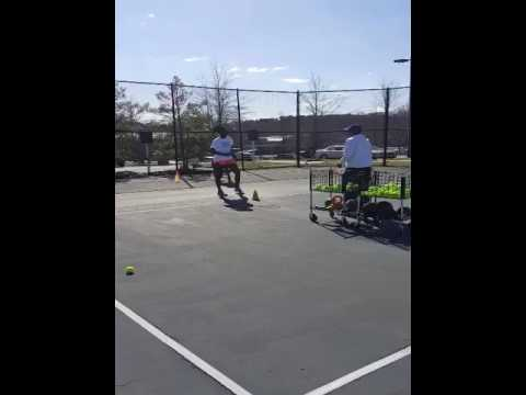 2017 Spring Junior Tennis Clinic @ Forsyth Country Day School in Winston Salem, NC