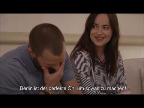 Jamie Dornan, Dakota Johnson - FSD Hamburg Interview