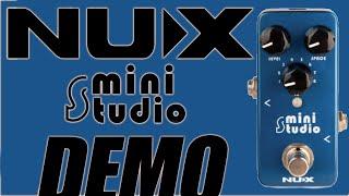 NUX - NSS3 Mini Studio Amp Simulator IR Loader - Demo
